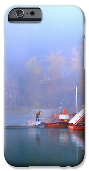 McCLURE FERRY iPhone Case by Theresa Tahara