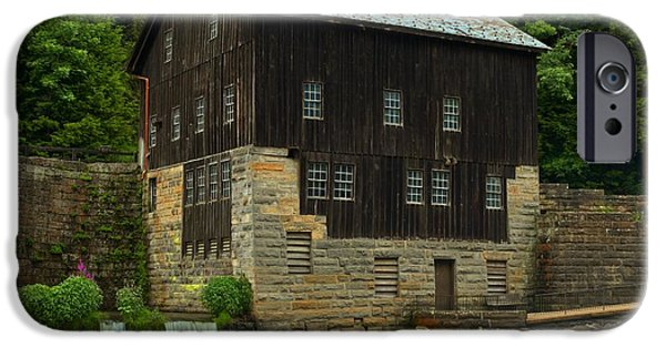 Grist Mill iPhone Cases - McConnells Mill Grist Mill iPhone Case by Adam Jewell