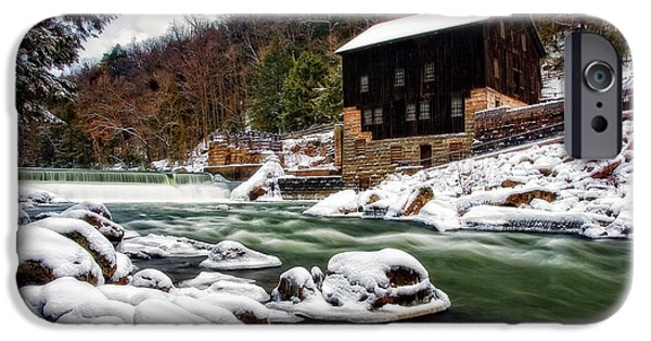 Grist Mill iPhone Cases - McConnells Mill iPhone Case by Marcia Colelli