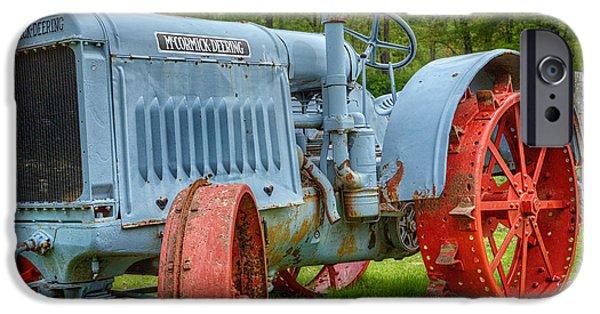 John Deere Tractor iPhone Cases - McCormick Deering iPhone Case by Bill  Wakeley