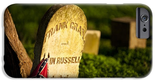 Tennessee Historic Site iPhone Cases - McGavock Confederate Cemetery iPhone Case by Brian Jannsen