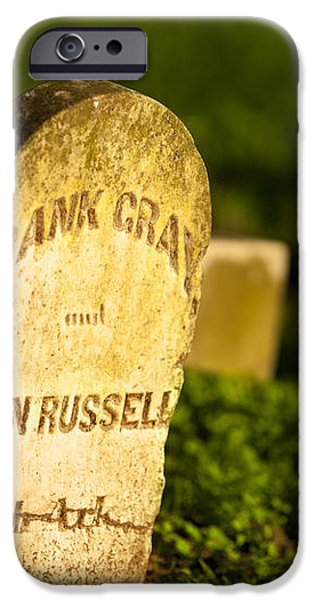 McGavock Confederate Cemetery iPhone Case by Brian Jannsen