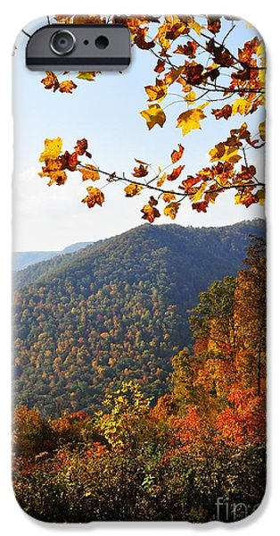 McGuire Mountain Overlook iPhone Case by Thomas R Fletcher