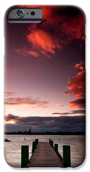 Windsor iPhone Cases - McKee Sunset Two iPhone Case by Cale Best