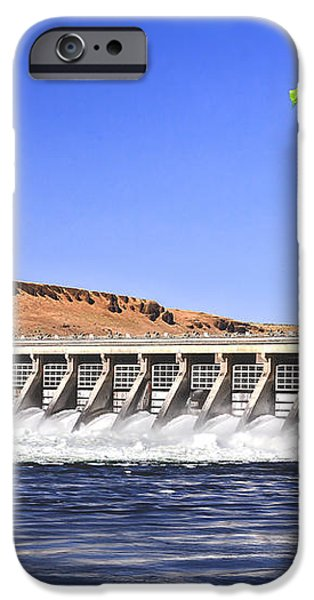 McNary  Hydroelectric Dam iPhone Case by Robert Bales