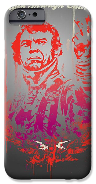 Steve Mcqueen iPhone Cases - Mcqueen iPhone Case by Pop Culture Prophet