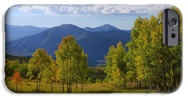 Fall Season iPhone Cases - Meadow Highlights iPhone Case by Chad Dutson