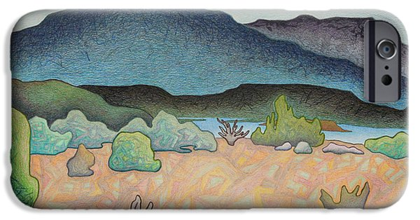 Mystical Landscape Mixed Media iPhone Cases - Meadow sunlight iPhone Case by Dale Beckman