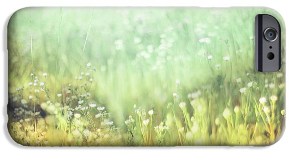 Impressionist Photography iPhone Cases - Meadowland iPhone Case by Amy Tyler