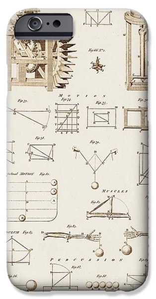 Barker iPhone Cases - Mechanical Devices And Principles iPhone Case by David Parker