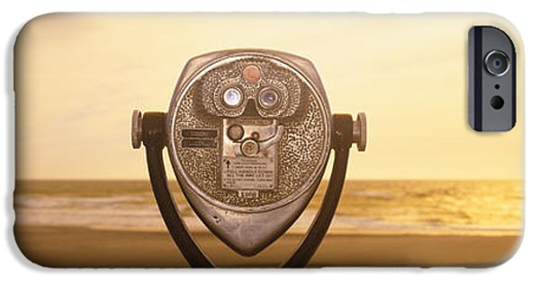 Pastel iPhone Cases - Mechanical Viewer, Pacific Ocean iPhone Case by Panoramic Images