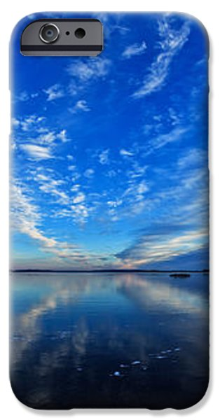 Meddybemps Blues 2 Panorama iPhone Case by Bill Caldwell -        ABeautifulSky Photography