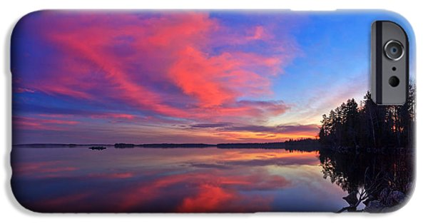 Red Rock iPhone Cases - Meddybemps Reflections 11 iPhone Case by Bill Caldwell -        ABeautifulSky Photography
