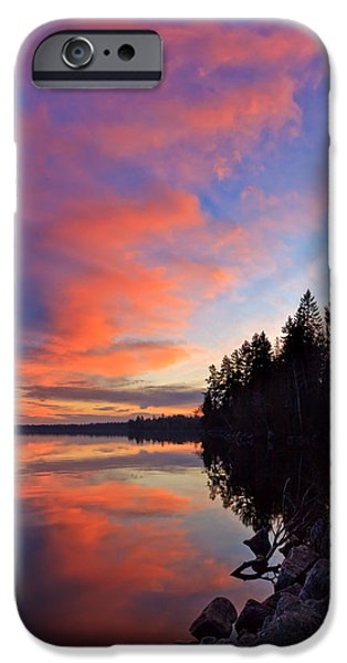 Red Rock iPhone Cases - Meddybemps Reflections 9 iPhone Case by Bill Caldwell -        ABeautifulSky Photography