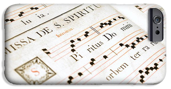 Abbey iPhone Cases - Mediavel chorus book  iPhone Case by Fabrizio Troiani