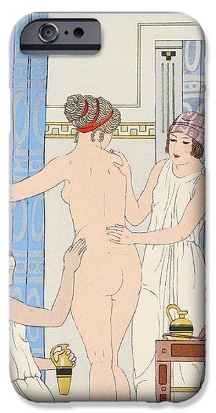 Medical Massage iPhone Case by Joseph Kuhn-Regnier