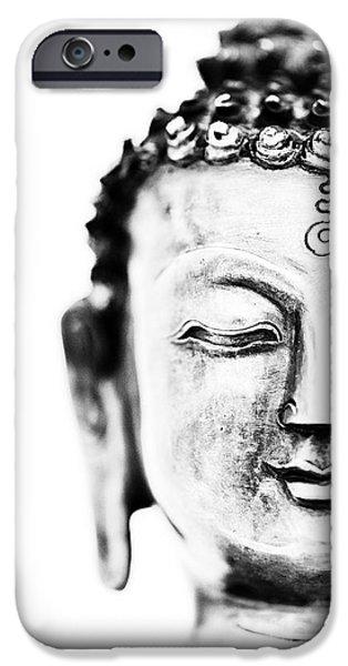 Medicine iPhone Cases - Medicine Buddha iPhone Case by Tim Gainey