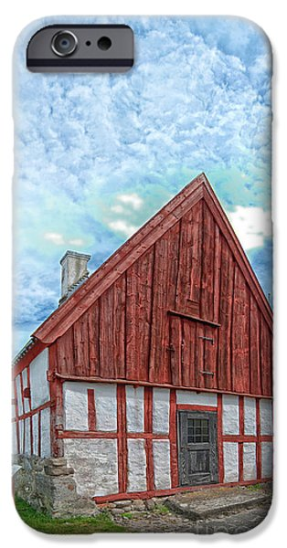 Medieval building iPhone Case by Antony McAulay