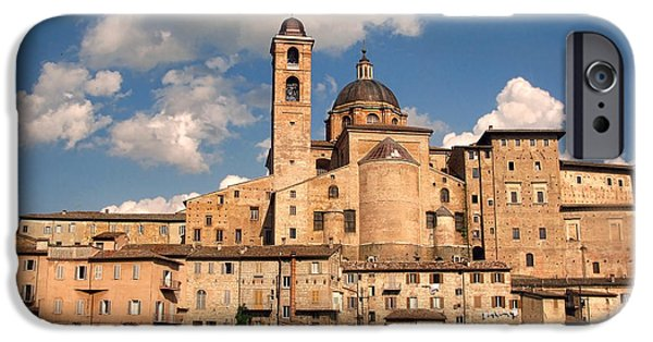 From The Dome iPhone Cases - Medieval Urbino.Italy iPhone Case by Jennie Breeze