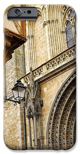 Medieval Vannes France iPhone Case by Elena Elisseeva