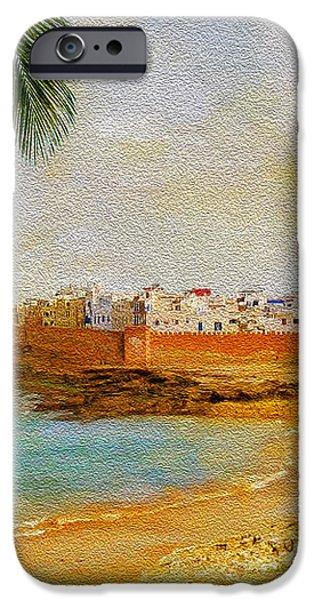 Medina of Tetouan iPhone Case by Catf