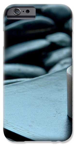 Meditation  iPhone Case by Olivier Le Queinec