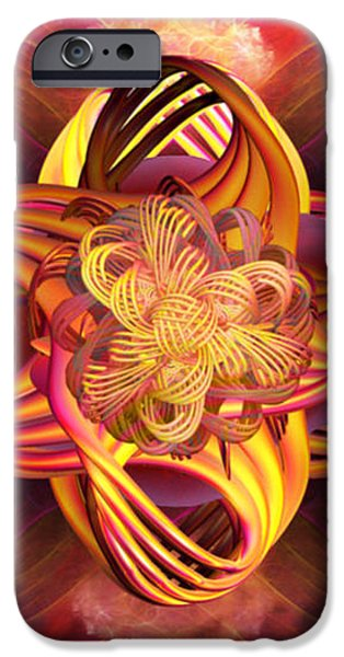 Meditative Energy iPhone Case by Elizabeth S Zulauf