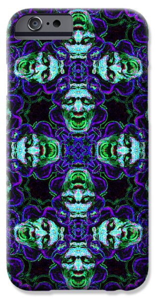 Medusa Abstract 20130131p138 iPhone Case by Wingsdomain Art and Photography