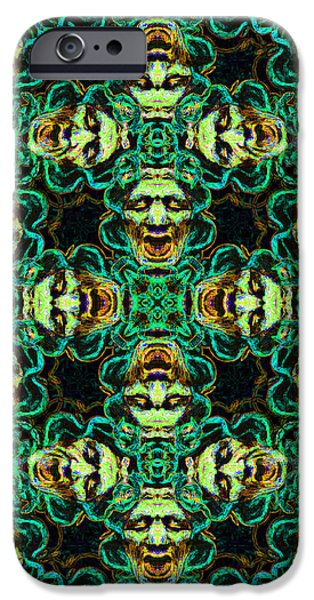 Medusa Abstract 20130131p38 iPhone Case by Wingsdomain Art and Photography