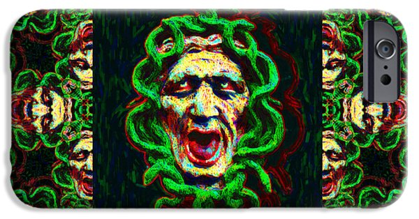 Medusa iPhone Cases - Medusas Window 20130131p0 iPhone Case by Wingsdomain Art and Photography
