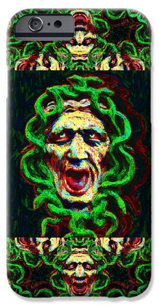 Medusa's Window 20130131p0 iPhone Case by Wingsdomain Art and Photography