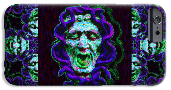 Medusa iPhone Cases - Medusas Window 20130131p138 iPhone Case by Wingsdomain Art and Photography