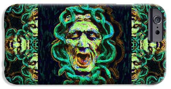 Medusa iPhone Cases - Medusas Window 20130131p38 iPhone Case by Wingsdomain Art and Photography