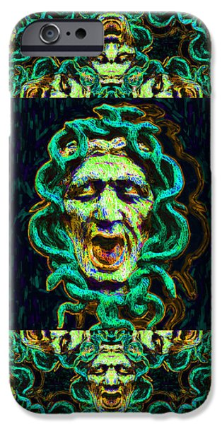 Medusa's Window 20130131p38 iPhone Case by Wingsdomain Art and Photography