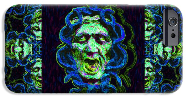 Medusa iPhone Cases - Medusas Window 20130131p90 iPhone Case by Wingsdomain Art and Photography