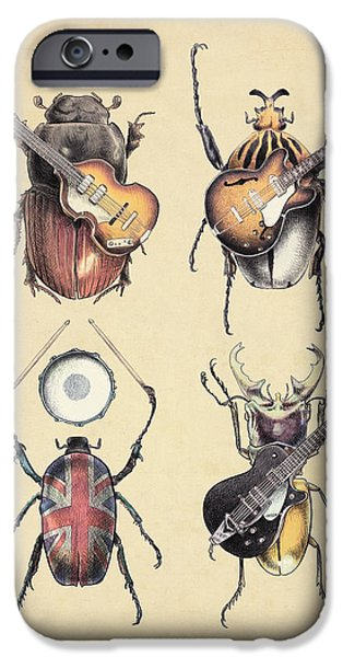 Beatles iPhone Cases - Meet the Beetles iPhone Case by Eric Fan