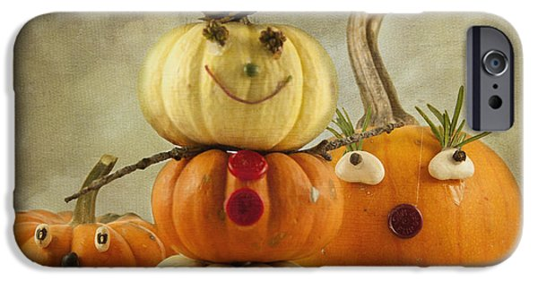 Squash iPhone Cases - Meet the Pumpkins iPhone Case by Juli Scalzi