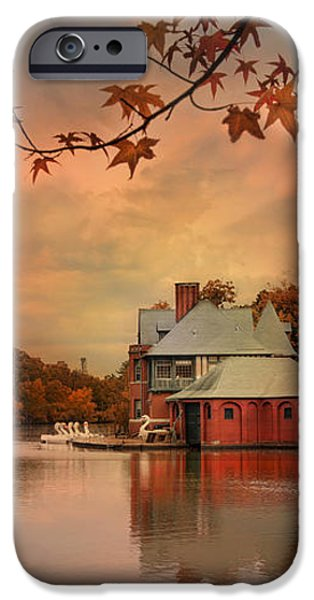 Meeting at the Lodge iPhone Case by Robin-lee Vieira