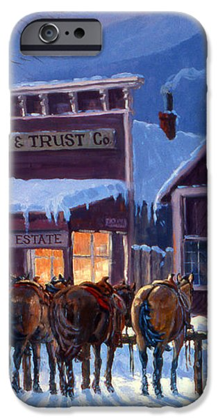 Meeting of the Board iPhone Case by Randy Follis