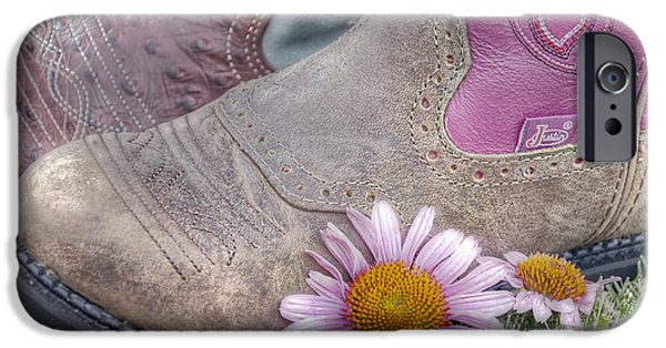 Cone Flower iPhone Cases - Megaboots iPhone Case by Joan Carroll