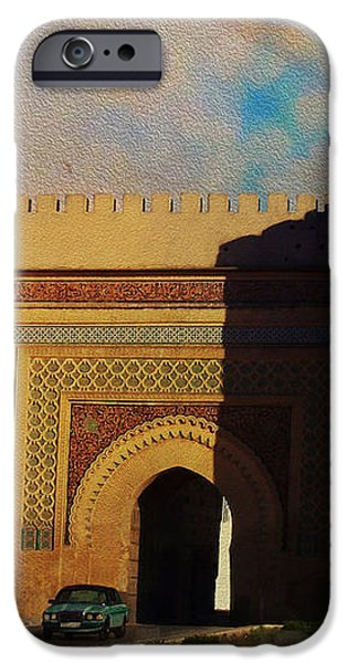 Meknes iPhone Case by Catf