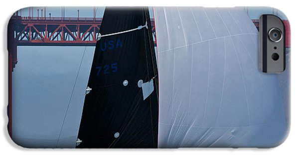 Sausalito iPhone Cases - Melges South Tower iPhone Case by Steven Lapkin