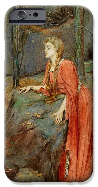 Melisande iPhone Case by Henry Meynell Rheam