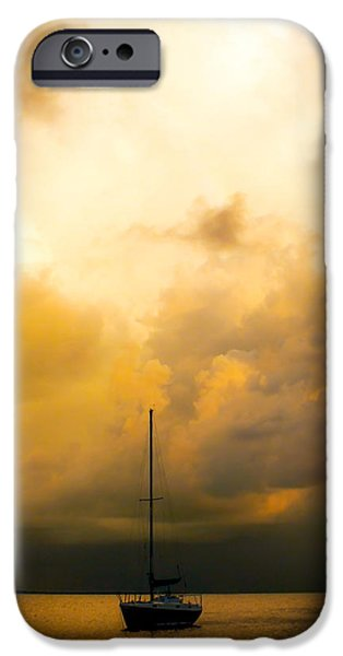 Art By God iPhone Cases - Mellow Dreams iPhone Case by Karen Wiles