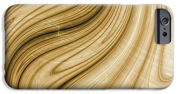 Dali Inspired iPhone Cases - Melting wood - Dali inspired iPhone Case by Pennie Gibson
