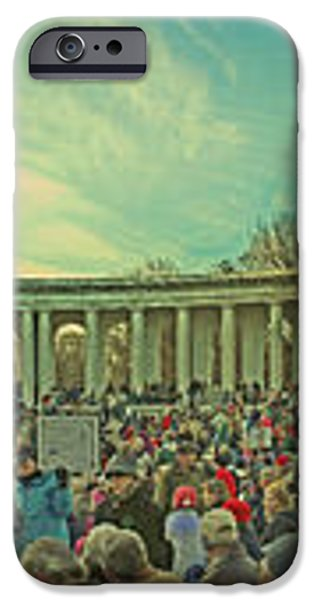 Memorial Amphitheater at Arlington National Cemetery iPhone Case by Tom Gari Gallery-Three-Photography