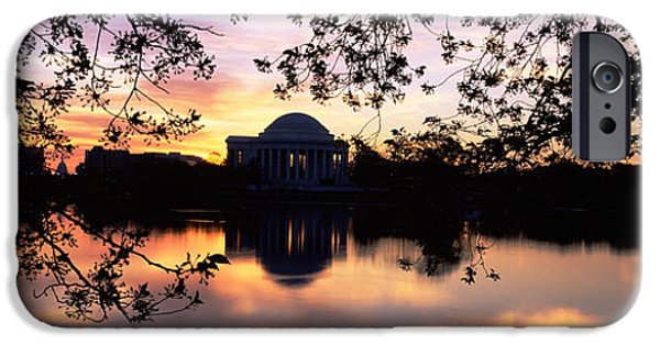 Basin iPhone Cases - Memorial At The Waterfront, Jefferson iPhone Case by Panoramic Images