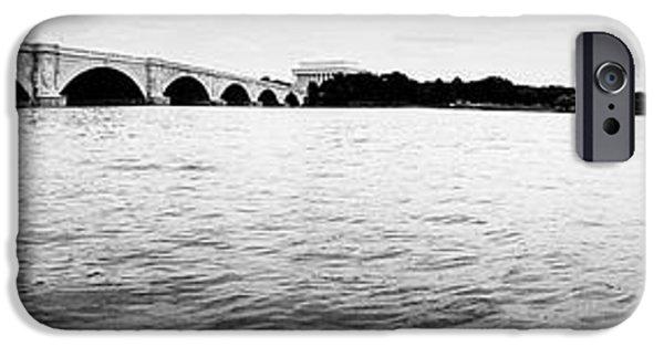 D.c. iPhone Cases - Memorial Bridge iPhone Case by Pamela Corey