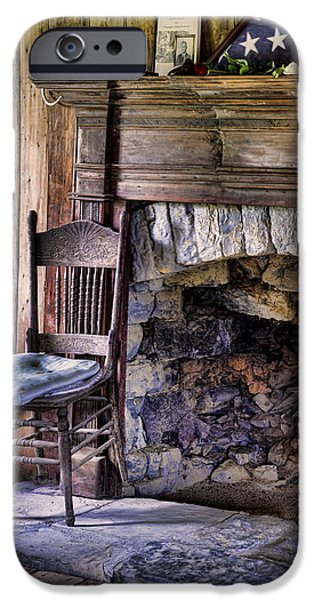 Empty Chairs iPhone Cases - Memories iPhone Case by Heather Applegate