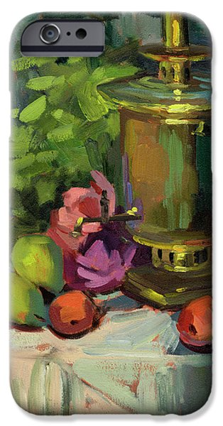 Memories iPhone Cases - Memories of Sergei iPhone Case by Diane McClary